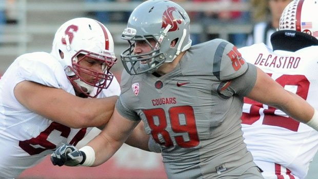 © Travis Long reportedly suffered a knee injury last week and may miss Friday's game against Washington (Photo: FILE / WSU Athletics)
