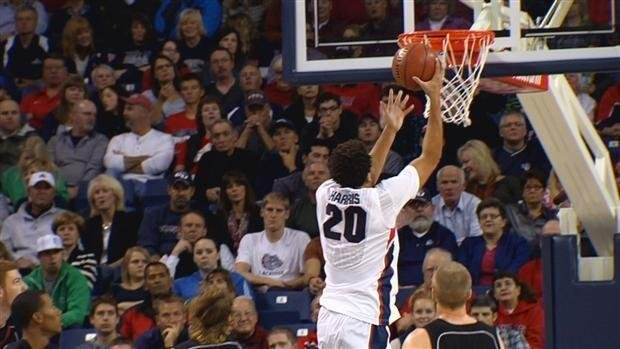 © Elias Harris scored a season-high 24 points against Davidson last week (Photo: FILE/SWX)