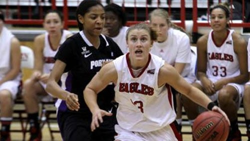 Lexi Nelson averaged 10 points per game over the weekend and hit 12-of-14 from the free throw line (PHOTO: FILE/EWU Athletics)
