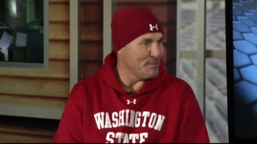 Spokane native and former Super Bowl MVP Mark Rypien believes Mike Leach will eventually succeed at Washington State if given some time (Photo: SWX)