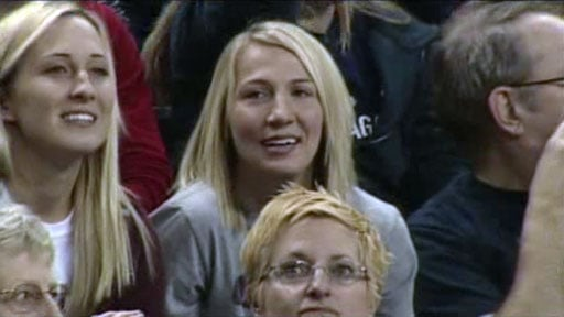 Courtney Vandersloot was at Sunday's Gonzaga-Stanford game and stopped to talk to SWX. (Photo: SWX)