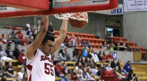 Freshman Venky Jois had 22 points and 13 rebounds against Cal State Fullerton last week (Photo: EWU Athletics)