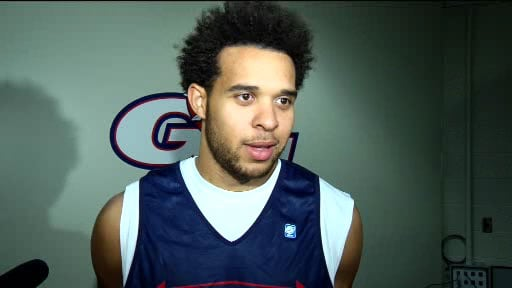 Elias Harris said he remembers well the night the Zags lost to Washington State in Pullman; it was embarrassing (Photo: SWX)