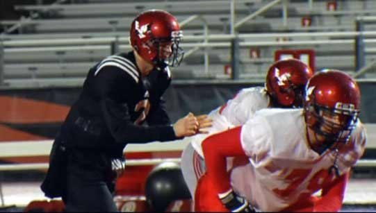 Coach Beau Baldwin said Kyle Padron is the slated starter for Saturday's game against Illinois State (Photo: SWX)