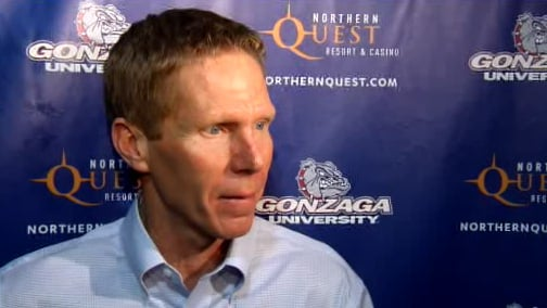 © Gonzaga coach Mark Few said he was worried about Illinois' offense going into the game (Photo: SWX)