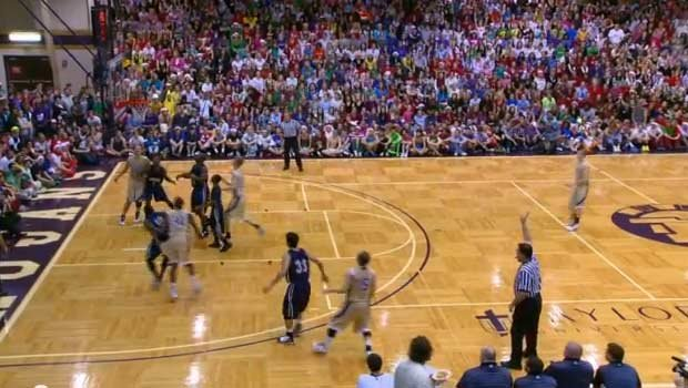 "Taylor University has kept the ""Silent Night"" game tradition alive for more than 20 years. (YouTube)"