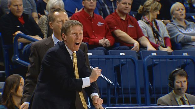 Could Mark Few and his Zags be looking to leave the WCC? It's possible, writes ESPN's Andy Katz (Photo: FILE/SWX)