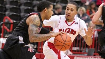 EWU will play on the road for the last time Monday before beginning the Big Sky portion of its schedule on Dec. 20