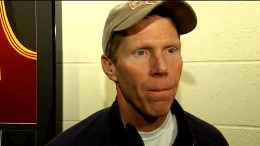 Coach Mark Few said, again, that he is happy with the WCC but must look out for the best interests of the program moving forward (Photo: SWX)