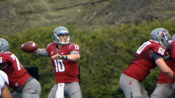 Jeff Tuel missed most of his junior season with a broken collarbone (Photo: SWX)