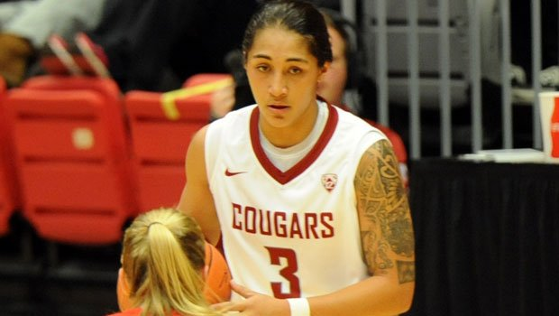 Lia Galdeira led the Cougars in scoring against both No. 14 Lousiville (13) and Syracuse (16). (Photo: WSU Athletics)