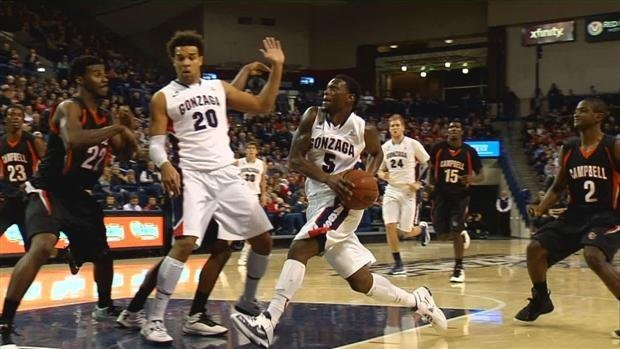 Gonzaga could face serious threats from the likes of Saint Mary's and BYU this season (Photo: SWX)