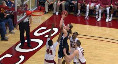 Gonzaga won all three games last year, including an 81-74 win on the road against Santa Clara (Photo: SWX)