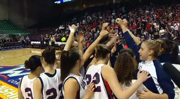 Gonzaga will have their hands full Thursday night with first place BYU in town (Photo: SWX)
