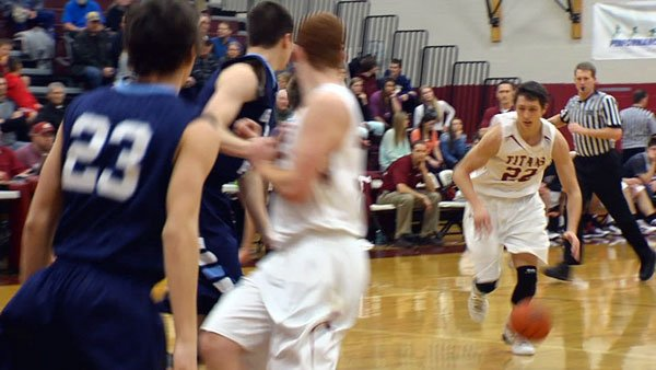 Brett Bailey scored 14 points in the Titans win over Gonzaga Prep (Photo: SWX)