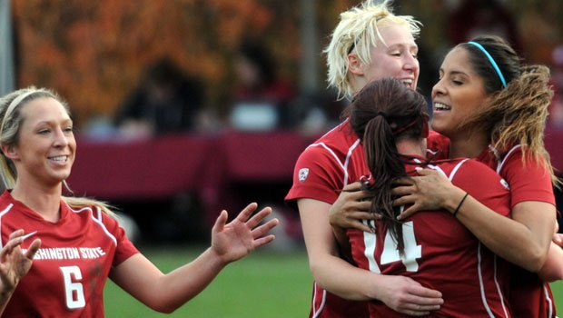 The Cougar soccer team went to the NCAA championship last season and lost in the first round to Portland (Photo: WSU Athletics)