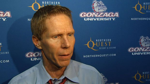 Gonzaga coach Mark Few said his team played with effort and passion on the defensive side of the ball (Photo: SWX)