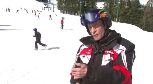 Scott Hackney has ALS, but that hasn't kept him from teaching people how to ski at Mt. Spokane Ski Area (Photo: SWX)