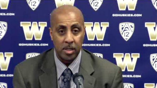 Coach Lorenzo Romar decided to keep Jernard Jerreau in the game against Oregon State last week because he was playing so well. (KIRO)