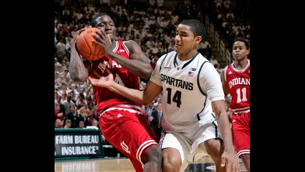 No. 1 Indiana held on to beat No. 4 Michigan State 72-68 (AP)