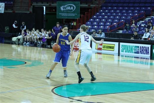 Lynndell Wapsheli led Yakama Nation with 17 points.