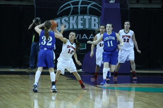 Colton easily defeated Tahola 77-15 to advance to the 1B semifinals (Photo: SWX)