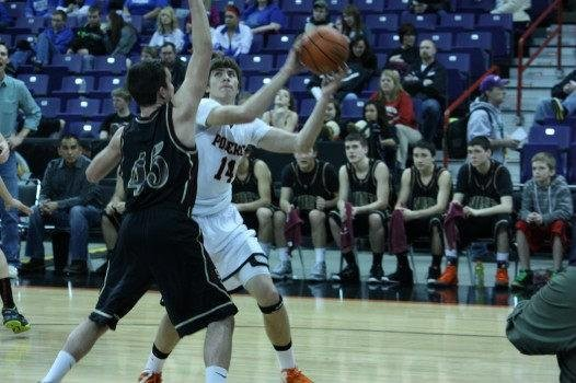 Sunnyside Christian stifled Pomeroy 50-40 to advance to the 1B title game on Saturday (Photo: SWX)