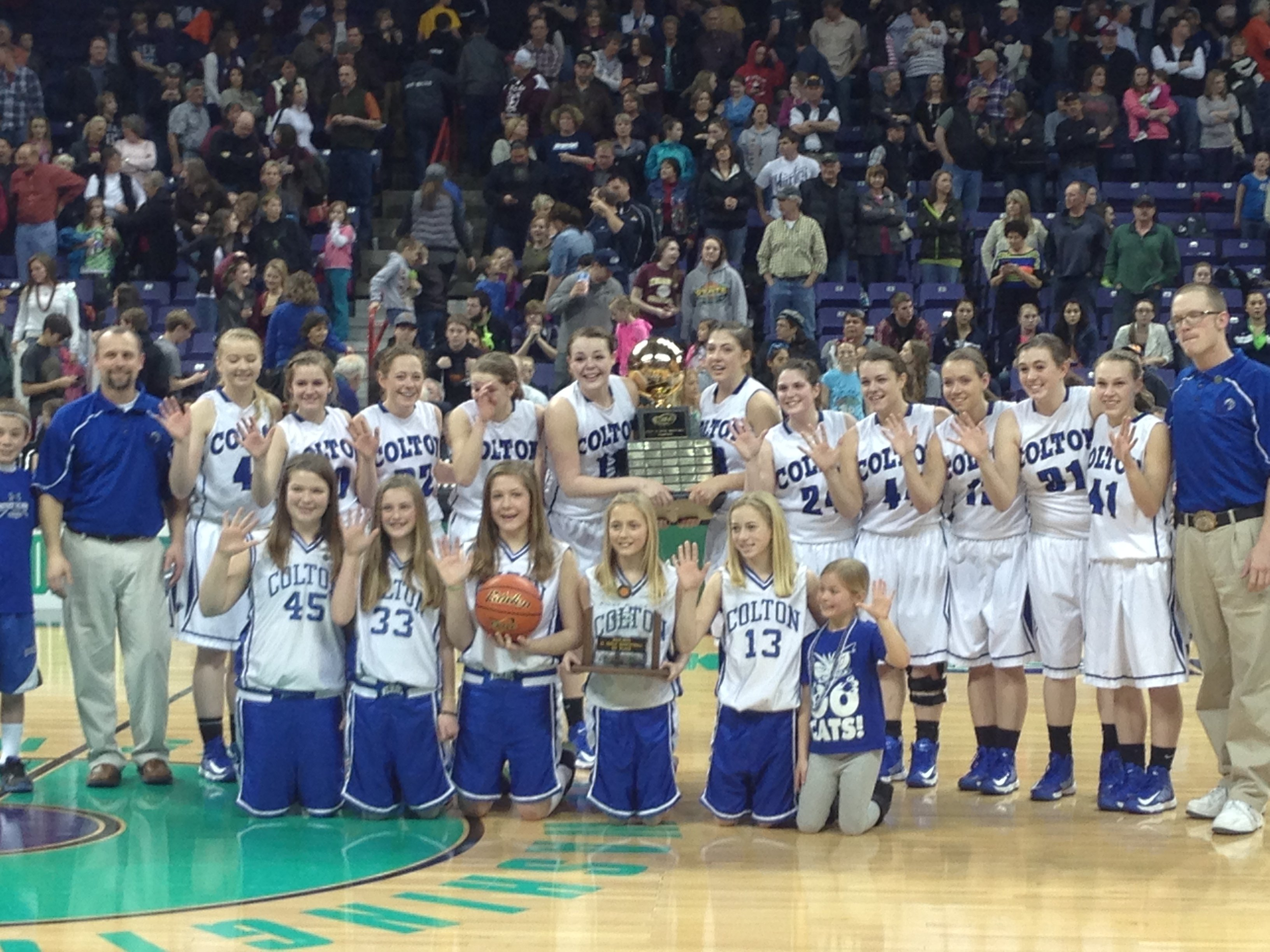 Colton won its fifth consecutive state title.