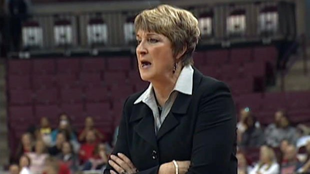 WSU women's basketball coach June Daugherty had emergency appendectomy surgery on Thursday (Photo: FILE/SWX)