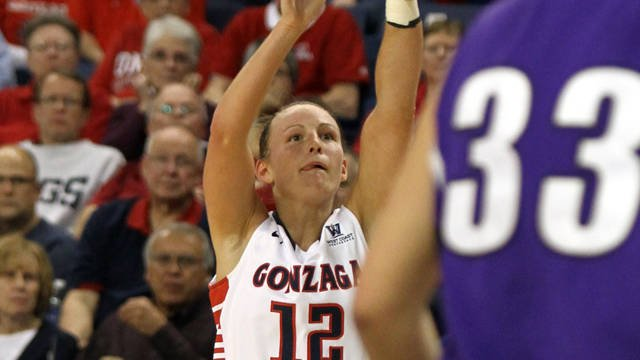 Gonzaga will face BYU in Saturday's semifinal game at The Orleans in Las Vegas (Photo: Gonzaga Athletics)