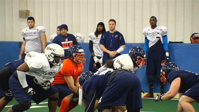 The Shock made roster cuts on Monday and now have a week before they finalize the roster.