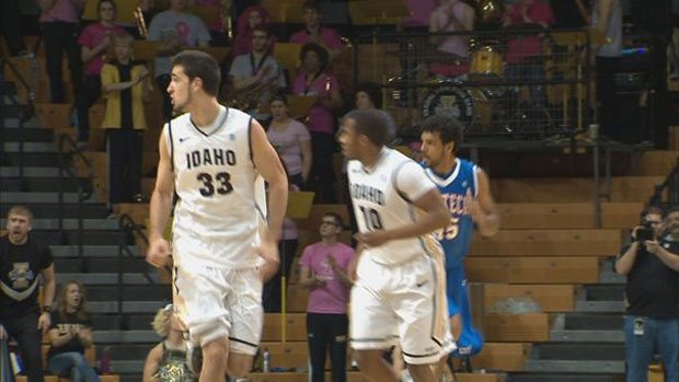Kyle Barone's 19 points were not enough for Idaho to overcome New Mexico State on Thursday.