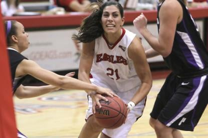 Eastern Washington's season comes to a close after an overtime loss to Northern Colorado in the semifinals of the Big Sky Conference tournament (Photo: FILE/SWX)