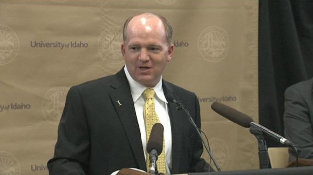 Idaho head coach Paul Petrino (above) named Kris Cinkovich assistant head coach.