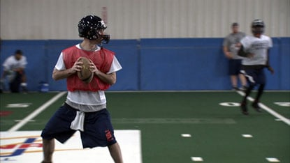 Erik Meyer won AFL Offensive Player of the Week after a big game in Cleveland.