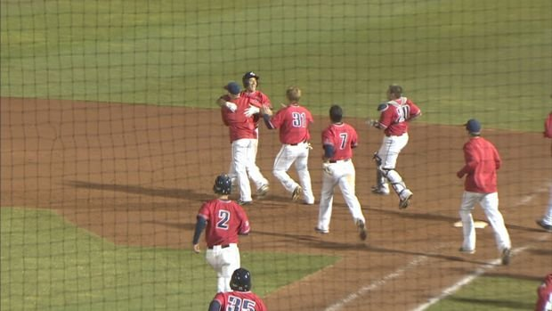 Gonzaga baseball earned a doubleheader split after a walk-off hit by Travis Forbes.