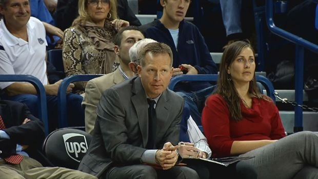 Gonzaga assistant Ray Giacoletti is rumored to be a finalist for the head coaching vacancy at Drake.