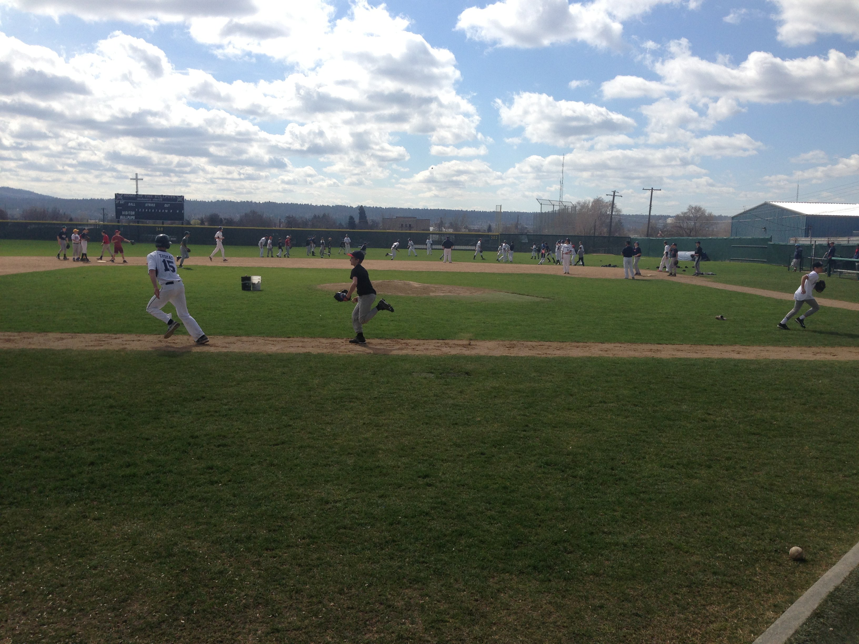 Gonzaga Prep players ran a youth camp this week.