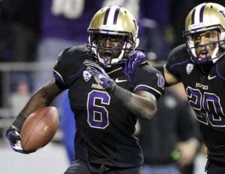 Former UW cornerback Desmond Trufant was selected by the Falcons in the first round of the NFL draft on Thursday. (Photo: Courtesy AP)The Atlanta Falcons have traded up to select Washington cornerback Desmond Trufant in the NFL draft. (Photo: Courtesy AP)