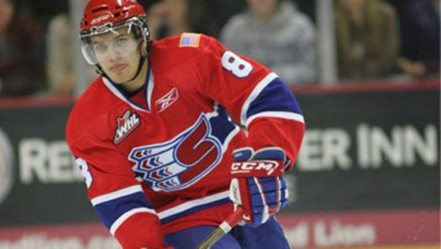 Longtime Chief Brenden Kichton was named the WHL top defenseman on Wednesday.