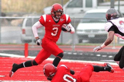 Former EWU receiver Greg Herd has signed with the Seahawks. (Photo courtesy EWU athletics)