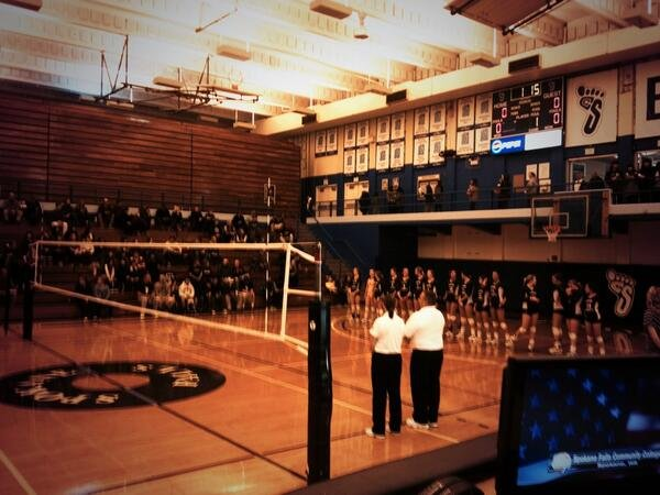 CCS anxiously awaiting the first set