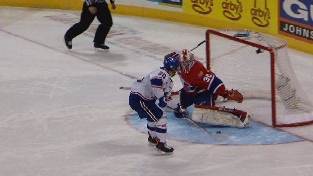 The Chiefs fell to Regina in a shootout on Saturday.