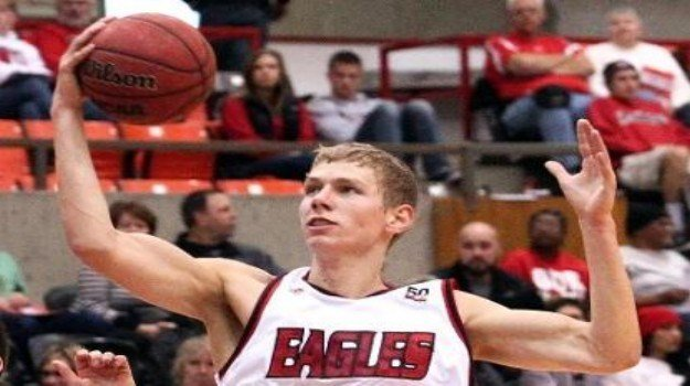 Martin Seiferth flew the Eagles over Walla Walla with 24 points and 18 rebounds on Tuesday night.