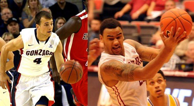 Kevin Pangos and DeVonte Lacy will go head-to-head on Thursday night.