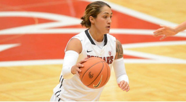 Lia Galdeira and the Cougars' women's basketball team failed to send OSU home with a loss of Friday.