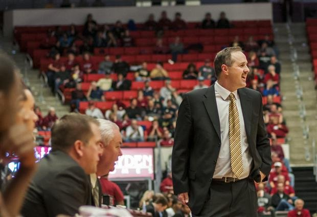 Don Verlin could only watch while Chicago State upset the Vandals at home on Saturday night.