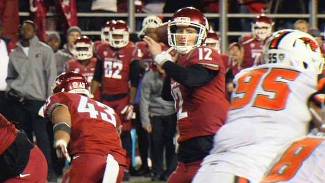 Connor Halliday will look to lead the Cougars to another bowl game next season.
