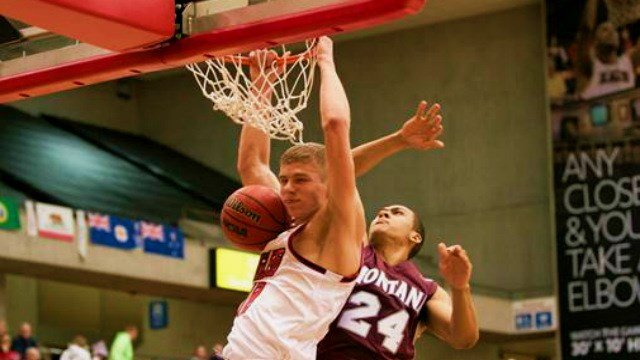 Martin Seiferth racked up 21 points and 12 rebounds to help the Eags defeat Montana on Thursday night.