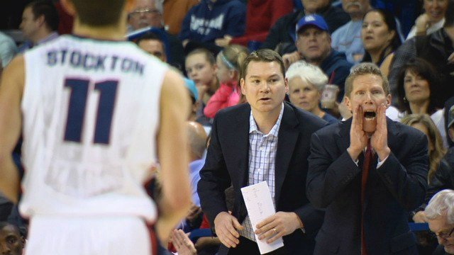 No matter how much Mark Few yelled his Bulldogs couldn't get it started vs. Portland on Thursday night.